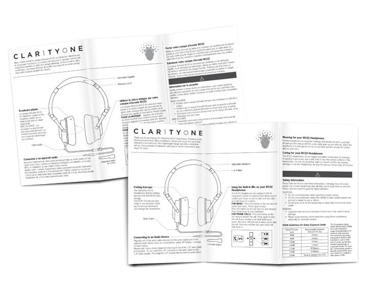 clarityone packaging design graphic design odl designs